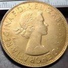 1964 United Kingdom 1 Penny - Elizabeth II Copy Coin
