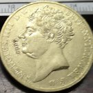1823 United Kingdom 2 Pounds - George IIII Copy Coin