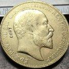 1902 United Kingdom 2 Pounds - Edward VII Copy Coin