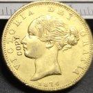 1874 United Kingdom 1 Sovereign - Victoria Copy Coin