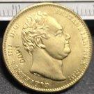 1832 United Kingdom 1 Sovereign - William IV Copy Coin
