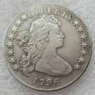 US 1796 Draped Bust Small Eagle One Dollar Copy Coin