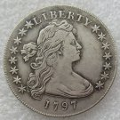 US 1797 Draped Bust Small Eagle One Dollar Copy Coin