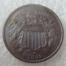 US 1869 Two Cents 2C Copy Coin