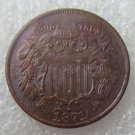 US 1871 Two Cents 2C Copy Coin