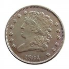 US 1834 Classic Head Half Cent Copy Coin