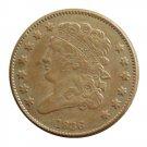 US 1836 Classic Head Half Cent Copy Coin