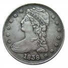 US 1838 Capped Bust Half Dollar Copy Coin