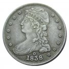 US 1838-O Capped Bust Half Dollar Copy Coin