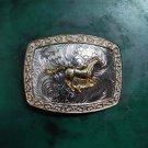 Men's Western Golden Running Horse Cowboy Belt Buckles