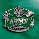 United State Army Western Cowboy Military Belt Buckle For Men