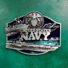 United States Navy Metal Belt Buckle for Men