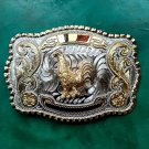 Big Size Lace Gold Chicken Cowboy Metal Belt Buckle For Men's Jeans Belt Head
