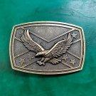 Bronze Fly Eagle Luxury Men Western Cowboy Cowgirl Belt Buckle