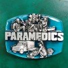 Blue Paramedic Western Cowboy Belt Buckle For Men