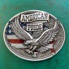 American Pride Fly Eagle Western Cowboy Belt Buckle For Men