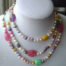 Beautiful Tibet Pearl Necklace
