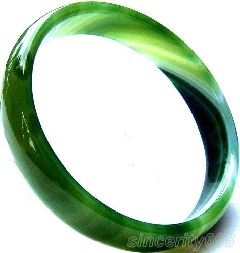 Valley rare chinese jade agate bracelet bangle
