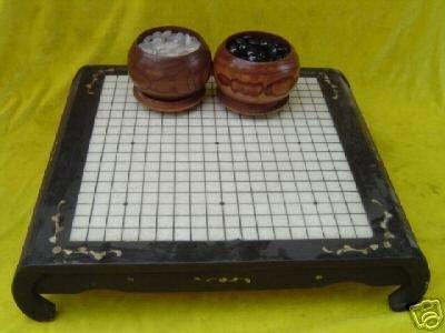 Brilliant  Game of I-go Chessman Board table