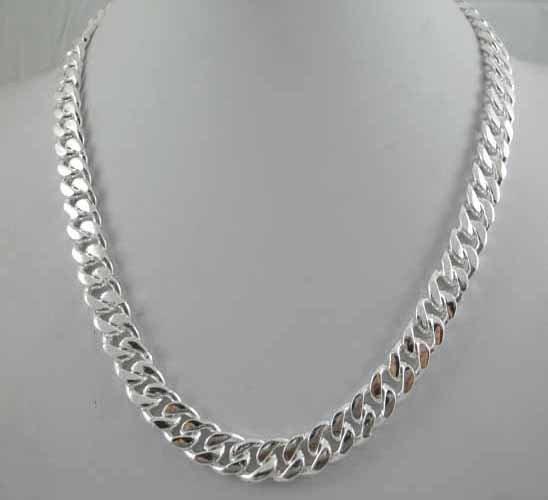 "20"" Fine Jewelry Titanium Steel Men's Necklace"