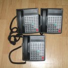 LOT OF 4 WIN MK-440CT 32S-TEL Black 32 Button Non-Display Phone Telephone OFFICE
