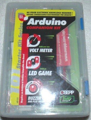OSEPP ARD-01B 101 OSEPP 101 Arduino Basics Companion Kit LED GAME VOLT METER ETC