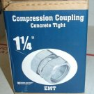 "1  1/4"" EMT Compression Coupling Concrete Tight Sigma 1.25"" 02-55263 078924172"