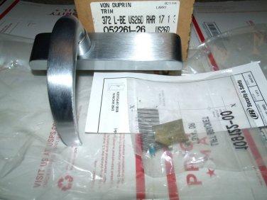 Von Duprin Trim 372-L-BE-US26D-RHR 626 Satin Chrome Stainless Steel 372L 33 35