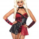 Leg Avenue 4 PC Deviant Darling Costume Size Large