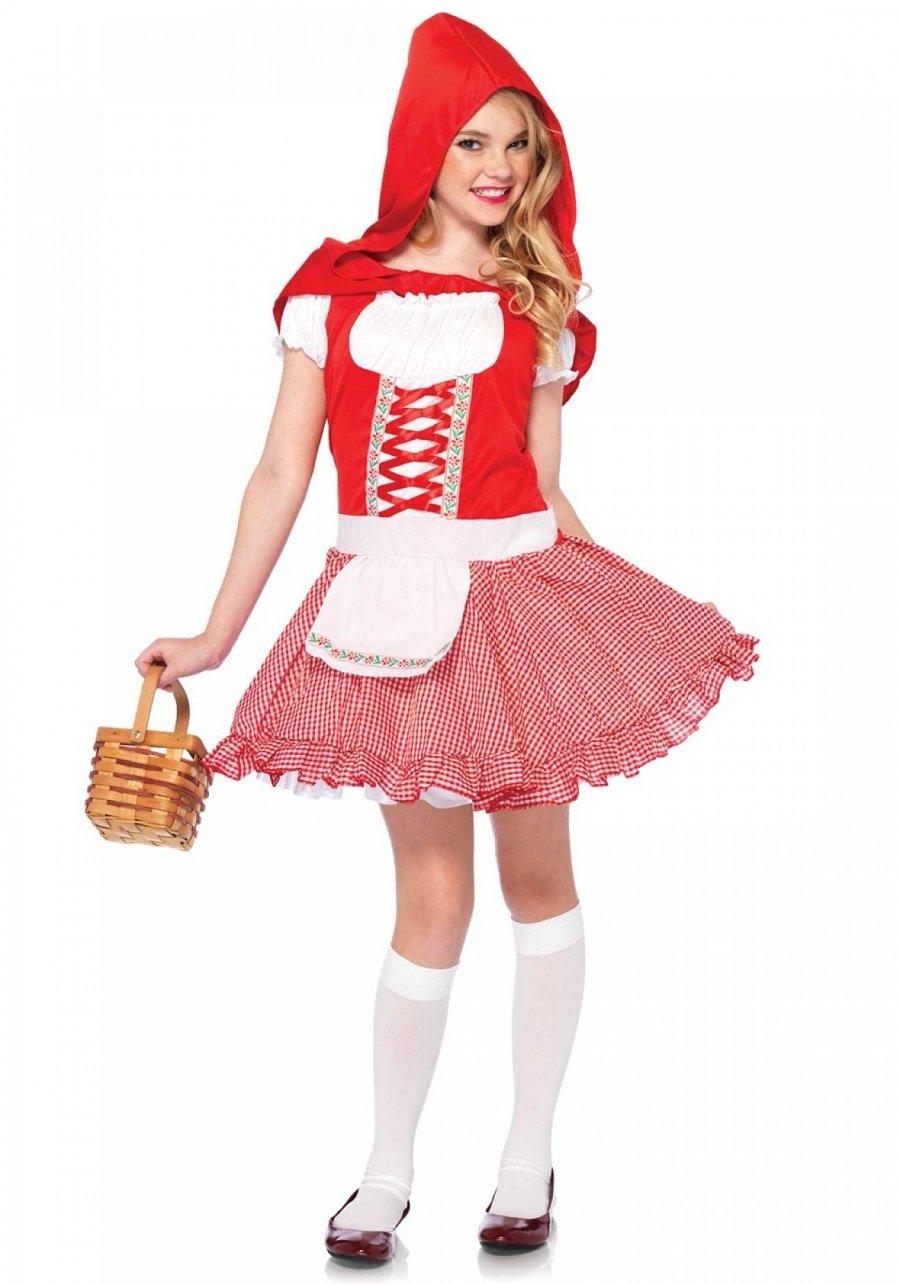 """Sku C48120  Lil"""" Miss Red Size M"""