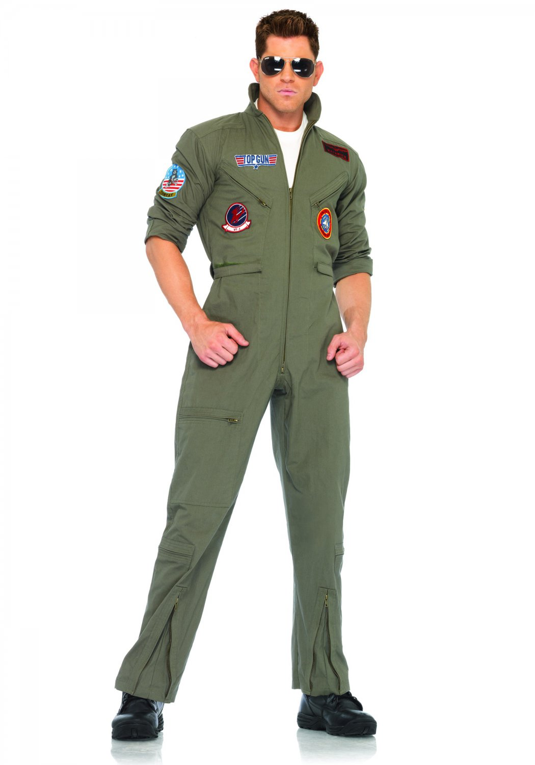 Leg Avenue Top Gun Flight Suit Size 2X