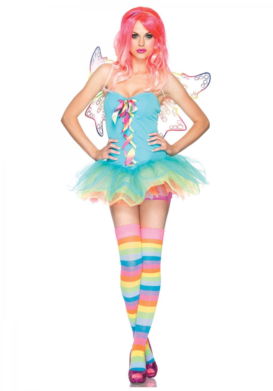 Leg Avenue Rainbow Fairy Dress Size L