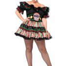 Leg Avenue Day Of The Dead Doll Size 3X-4X
