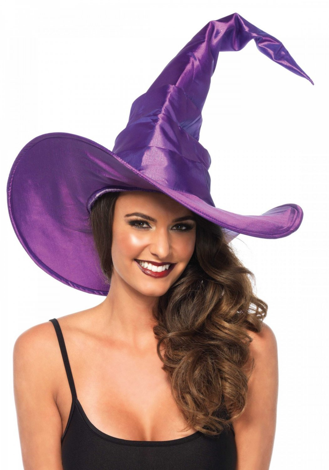 Leg Avenue Large Ruched Witch Hat One size