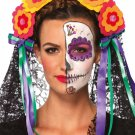 Leg Avenue Day Of The Dead Headband One size