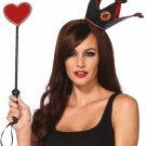 Crown headband & heart scepter