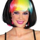 Pop Rainbow Bang Bob Wig