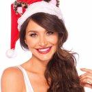Sku A2763  Santa Kitty Plush Hat
