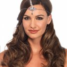 Silver Unicorn Horn Headband