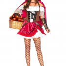 Leg Avenue 2PC. Rebel Riding Hood size Small