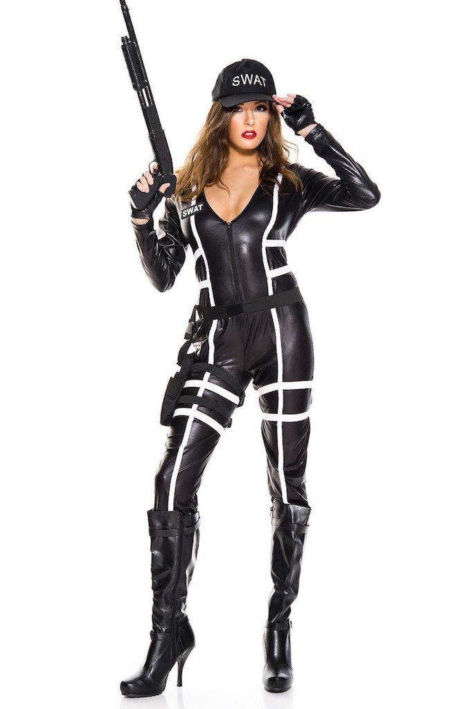Swat Agent Costume Size SM