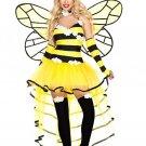 Sku 70757 Deluxe Queen Bee Costume Size ML