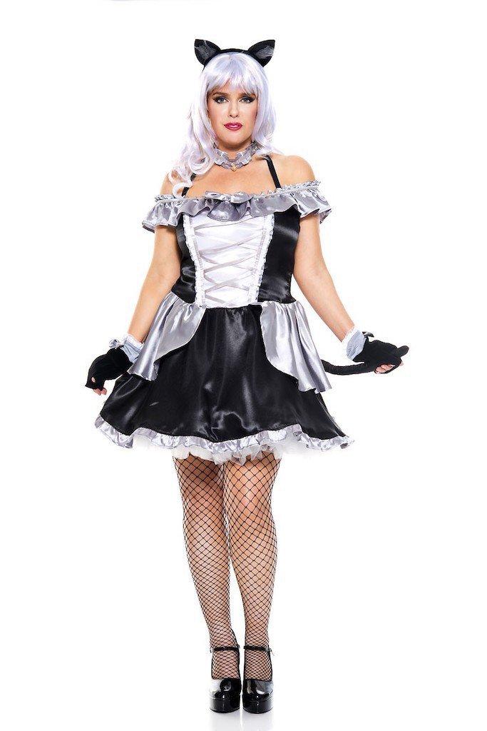 Sku 70751X Anime Cat Woman Costume Size 1X/2X