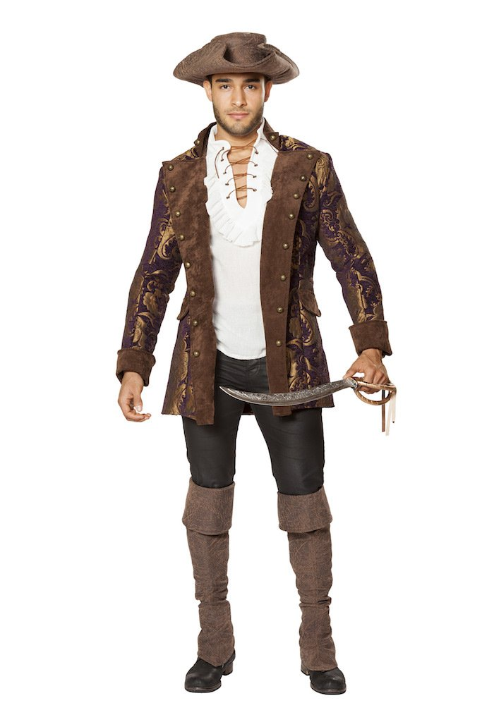 Sku 4650 Men's Pirate Jacket Size Small