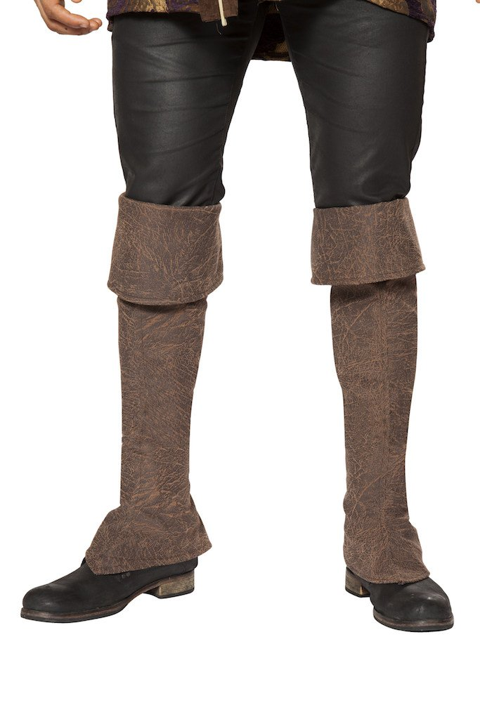 Sku 4650B Pirate Boot Cover With Zipper Detail