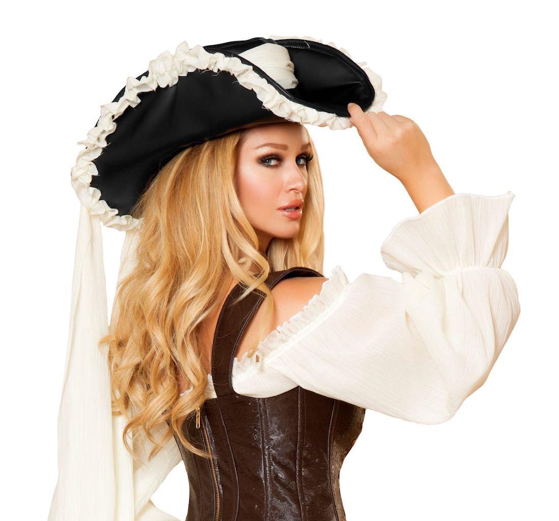Ruffled Pirate Hat