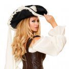 Ruffled Pirate Hat