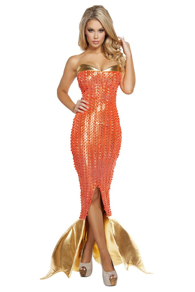 Sku 4578 1 PC Seductive Ocean Siren Costume Size Small
