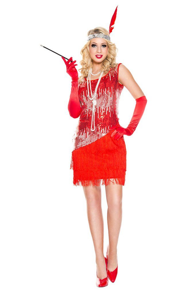 Sku 70595  Fearless Flapper Costume Size ML
