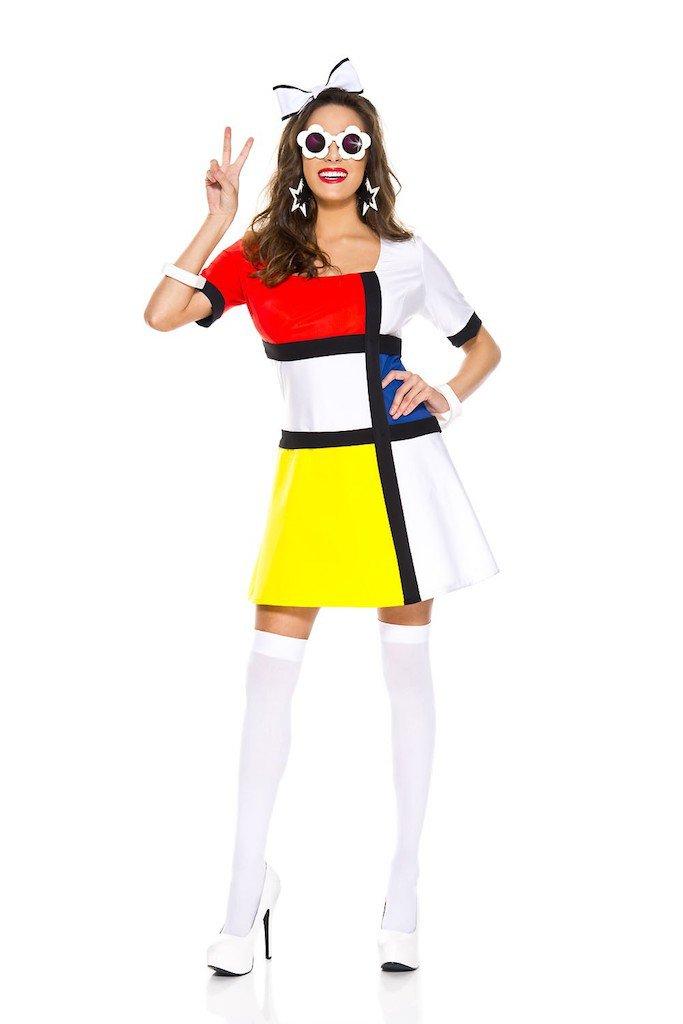 "Sku 70742  60""s Mod Muse Costume Size ML"